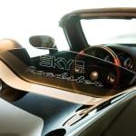 BLACK + SKY ROADSTER engraving