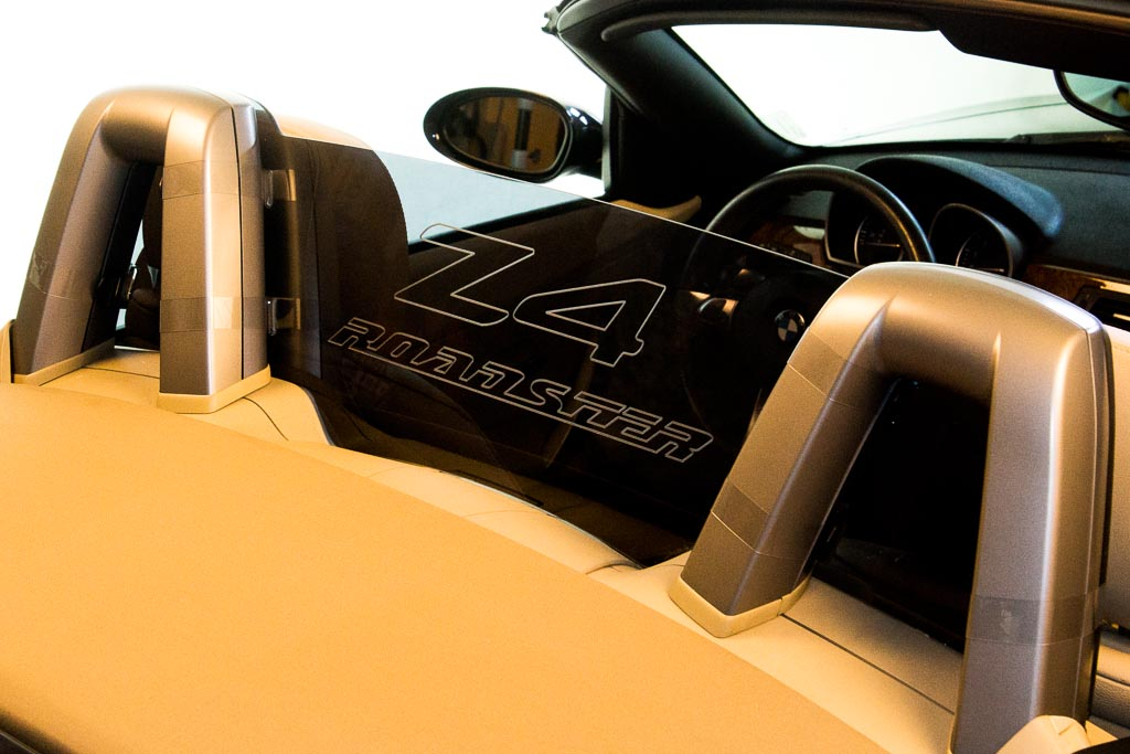 Deflectair Bmw Z4 Convertible Wind Deflector Windscreen